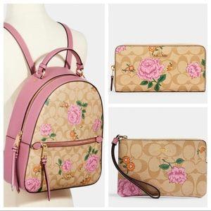 Coach Backpack & Wallet Set